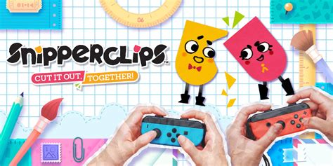 haircut cutting games snipperclips cut it out together nintendo switch