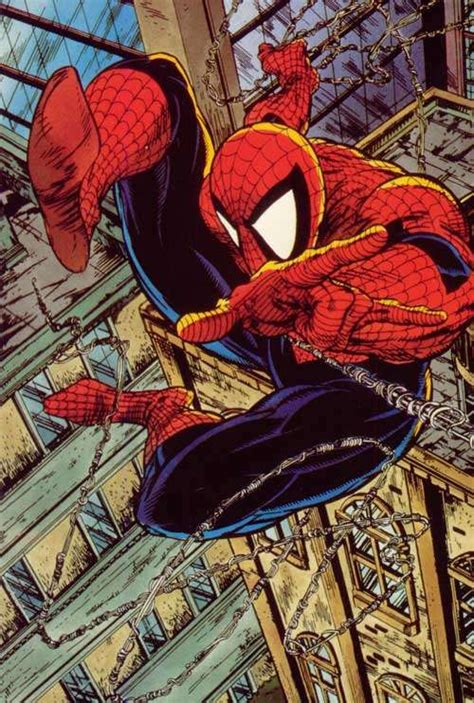 spider man by todd mcfarlane amazing spider man s webb confirms woodley new webshooters for sequel