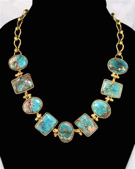 turquoise necklace turquoise water necklace arabella concepts