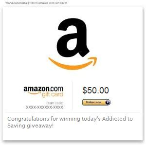 How Much Are Amazon Gift Cards - win a 50 amazon egift card every day this week on addicted to saving