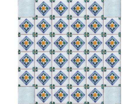 piastrelle ottagonali piastrella decoro rombo collezione antica caltagirone