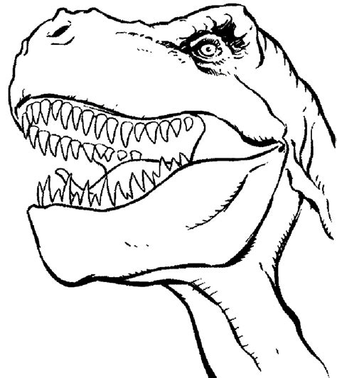 Trex Coloring Pages Best Coloring Pages For Kids In Coloring Pages