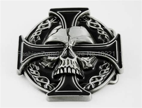 biker cross tattoos wholesale new design iron celtic cross skull