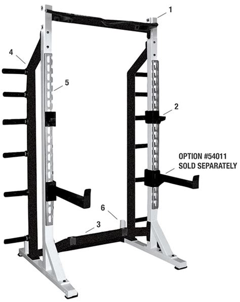 half rack weight bench sts self standing half rack york barbell