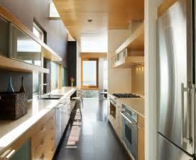 Narrow Kitchen Designs by Form And Function In A Galley Kitchen