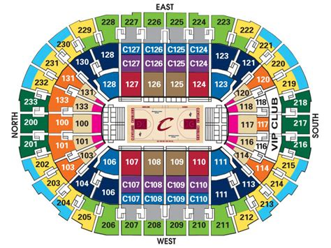 cavs tickets flash seats seating charts quicken loans arena official website