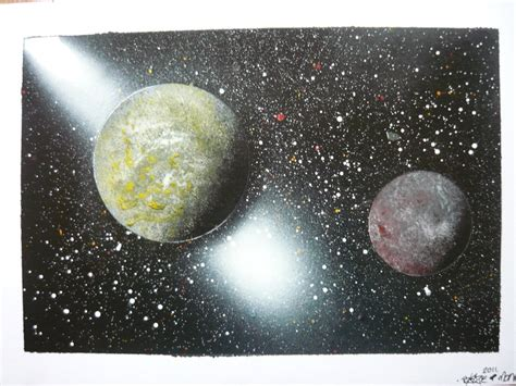 spray paint planets spray paint planets by blazeovsky on deviantart