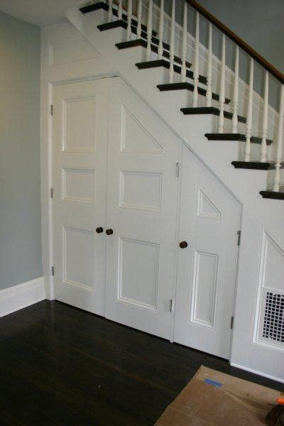Stair Closet by Three Dogs And A House The Story Of A House In Clinton