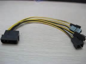 Kipas Pendingin Power ide molex ke 4 port pendingin kipas pendingin 3pin socket 2pin kawat kabel kabel listrik