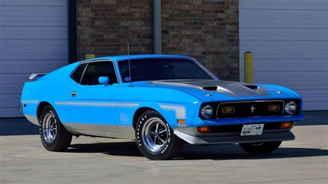 ford mustang mach 1 fastback 1971 ford mustang mach 1 fastback f155 indy 2016