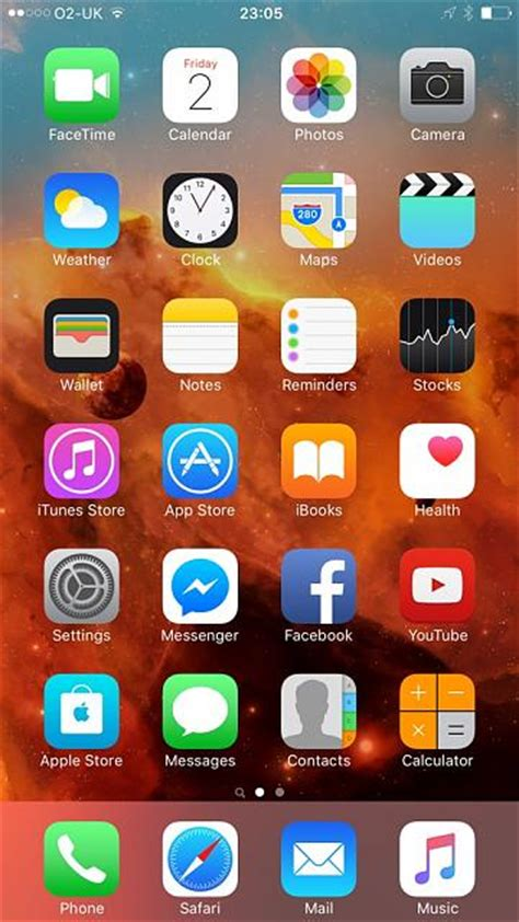 your iphone 6s homescreen iphone ipod