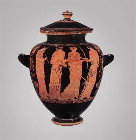 Ancient Greece Vase Painting by Ancient Vase