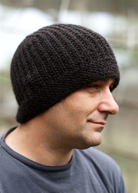 Geko Mens Beanie Hat Knitting Kit
