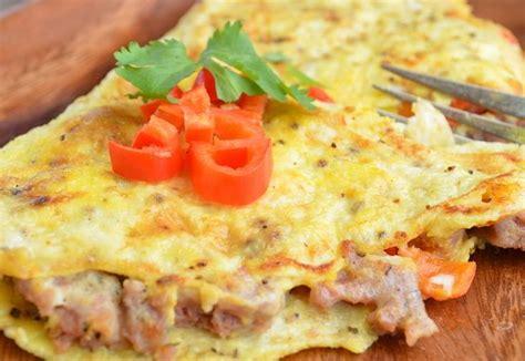cara membuat omelet kentang sederhana cara membuat resep omelet telur keju sayuran dan kornet