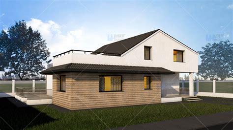 proiecte de casa proiect casa parter mansarda 190 mp dunia