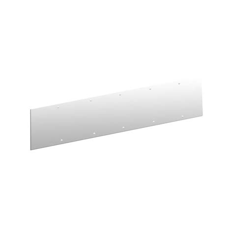 Kick Plates For Exterior Doors Shop Hager 30 In X 8 In Stainless Steel Entry Door Kick Plate At Lowes