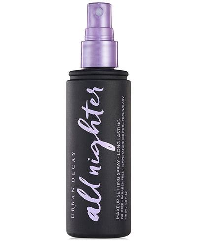 Decay Spray decay all nighter makeup setting spray