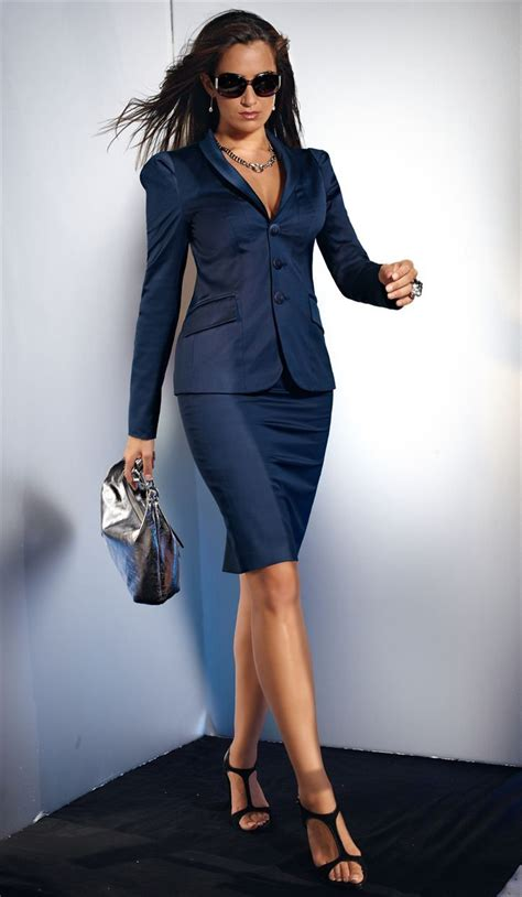 who is the woman wearing a blue dress in the viagra commercial classic blue suit female lawyer fashion pinterest