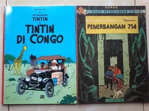Komik Petualangan Tintin Tintin Di Congo By Herge Buku Besar uniknya komik tintin terbitan indira dan gramedia oleh