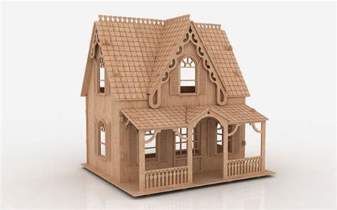 The Anne Shirley Houses Makecnc Com Laser Cut House Template