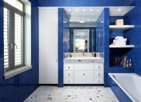 royal blue and white bathroom 15 blue and white bathroom designs ideas design trends