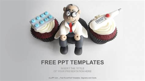 theme ppt medical free download doctor themed cupcakes medical ppt download free