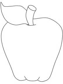 Apple Template Printable by Free Coloring Pages Of With Apple