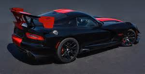 Price Of A Dodge Viper 2017 Dodge Viper Shares The Same Price From 92 990 As
