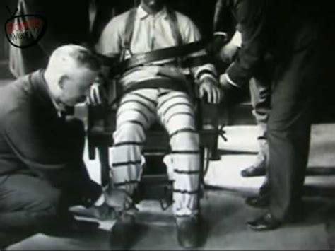 sedia elettrica esecuzione pena di morte 53 anni fa l ultima esecuzione