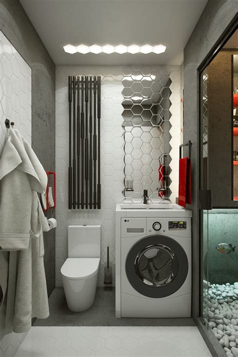 home design story washing machine micro home design tiny apartment of 18 square meters