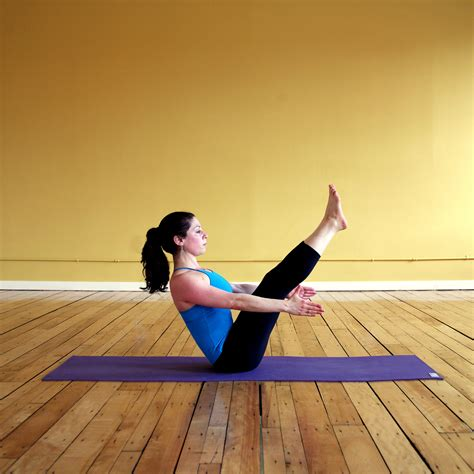 boat pose pelvis boat five yoga poses to fire up your core popsugar fitness