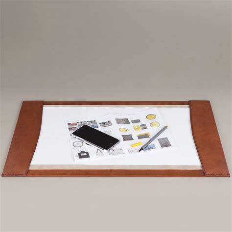leather desk blotter by notonthehighstreet