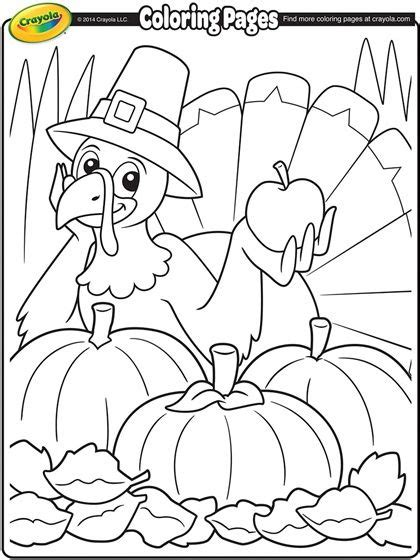 color a fun thanksgiving turkey this fall fall coloring