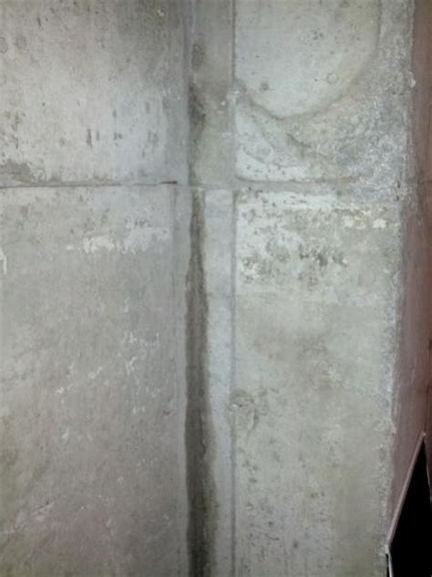 water seepage through concrete wall doityourself