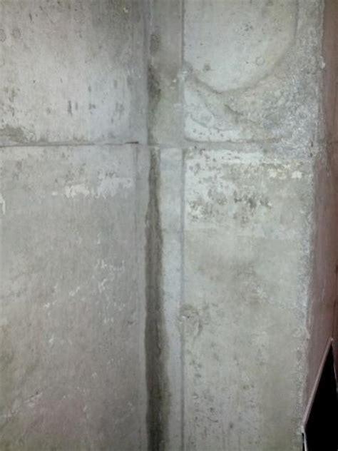 Water seepage through concrete wall   DoItYourself.com