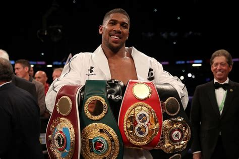 Anthony Joshua defeats Joseph Parker to add WBO belt to