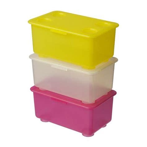 Lovely Boite De Rangement Ikea Plastique #14: Glis-scatola-con-coperchio-giallo__09194_PE085641_S4.JPG