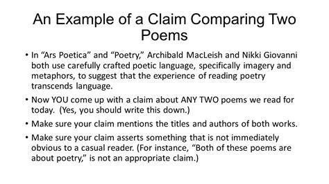 Compare Two Poems Essay by Writing An Essay Comparing Two Poems Richards Character Sketch The Character Of The Play