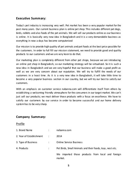 Best Resume Executive Summary Examples by Sample Business Plan Online Shop
