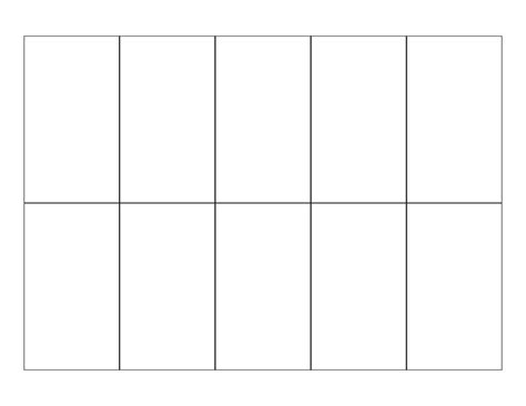 Blank Printable Cards Template by 7 Best Images Of Free Printable Blank Cards