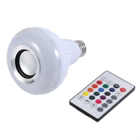 led light bulbs with wifi speakers wireless bluetooth remote control mini smart audio speaker