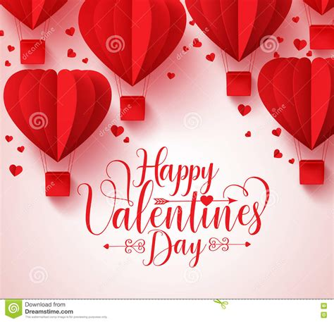 valentines day card design hearts vector stock vector happy valentines day vector greetings card design with
