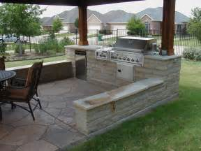 Outdoor Kitchen Design by Cozy Open Air Kitchen Design Idea Interior Design