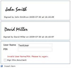 Electronic Signature Template by After Testing That All The Validation Works As Expected