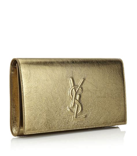 Ysl Or gold ysl clutch ysl china wholesale