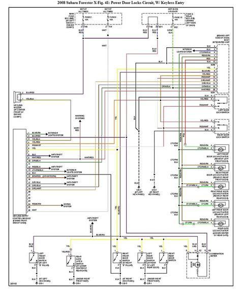 1998 subaru forester wiring diagram webtor me