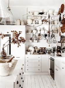 superior Shabby Chic Kitchen Wall Cabinets #1: Shabby-chic-kitchen-celebrates-white.jpg