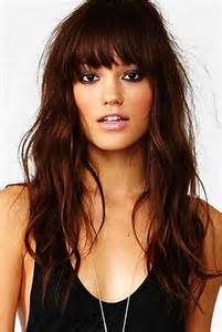 hair styles for an oval best 25 bangs for oval faces ideas on pinterest curled