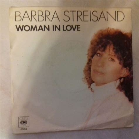 barbra streisand love barbra streisand woman in love 7inch sp for sale on