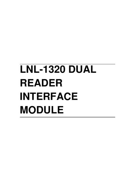 lenel access wiring diagram and webtor me